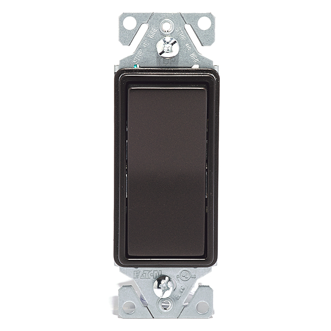 3-Way Decorator Switch - 15A - 120V - Bronze