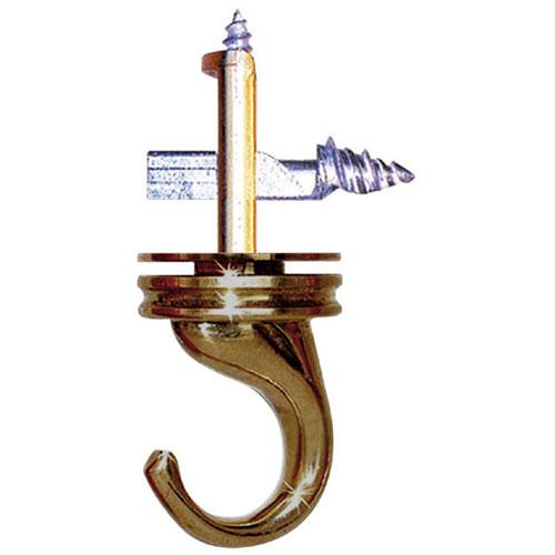 Swivel Ceiling Hook - Steel - Antique Brass