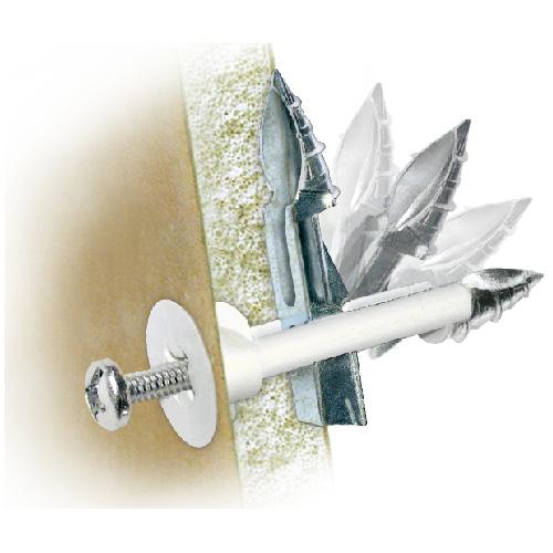 """Ancrage «DrillerToggle» pour mur creux, 1/8"""" x 3"""", 2/pqt"""