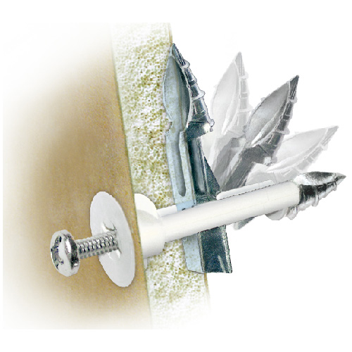 """DrillerToggle"" Drywall Anchor - 3/16"" x 2"" - 2/PK"