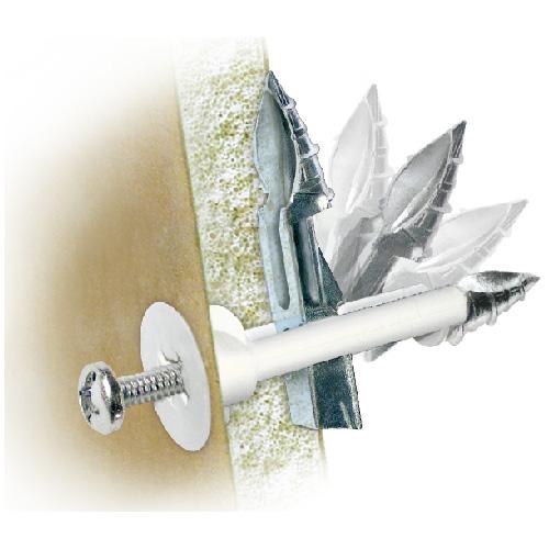"""DrillerToggle"" Drywall Anchor - 3/16"" x 3"" - 2/PK"