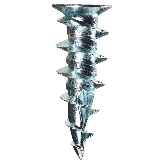 """Walldriller"" Self-Drilling Anchors and Screws - Zinc - 500/PK"