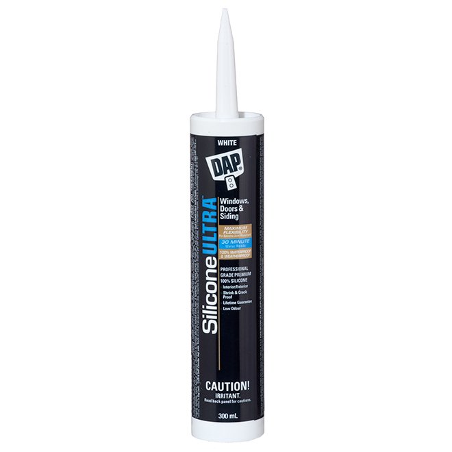 Silicone Ultra Sealant - Doors and Windows - 300 mL - White