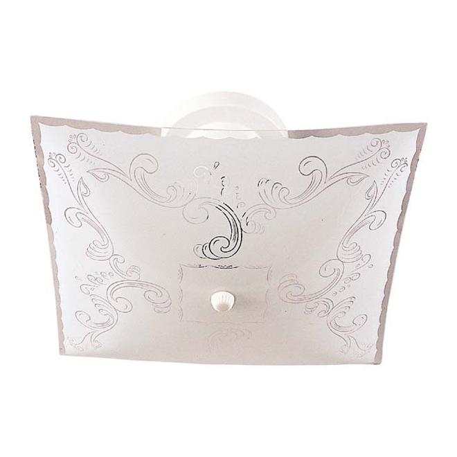 "Canarm 2-Light Ceiling Fixture - Glass Shade - 12"" x 12"""