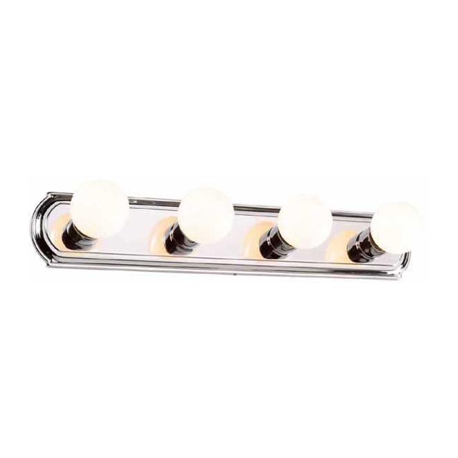 4-Light Vanity Strip - Chrome