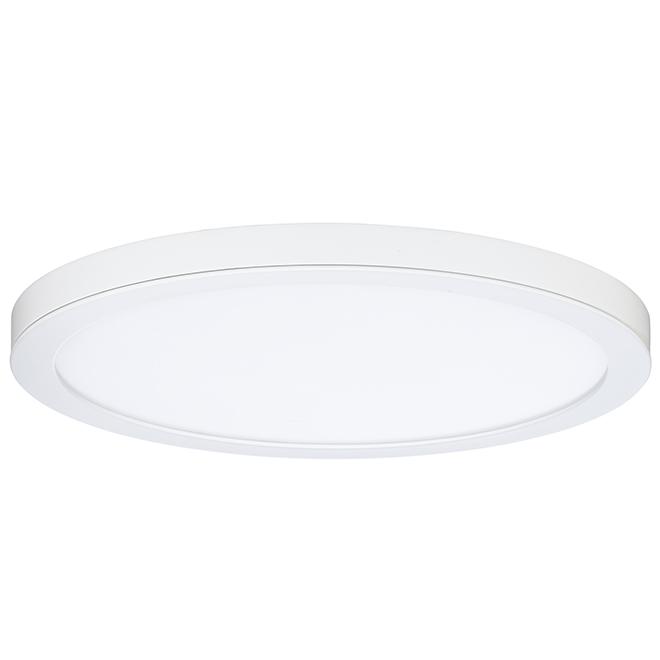 Flush-Mount LED Ceiling Light - 30 W - White