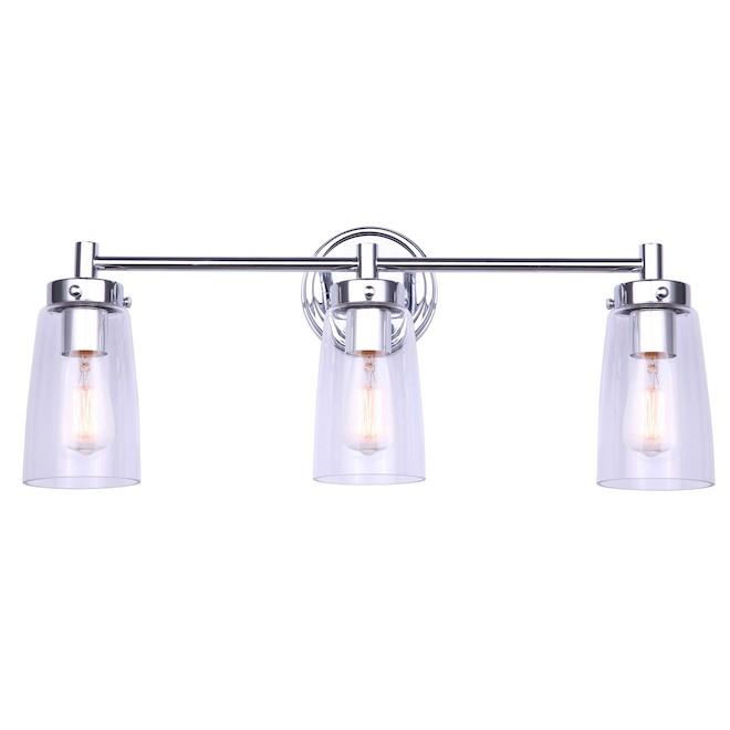 Canarm Dalroy Vanity Light - 3 Lights - Chrome