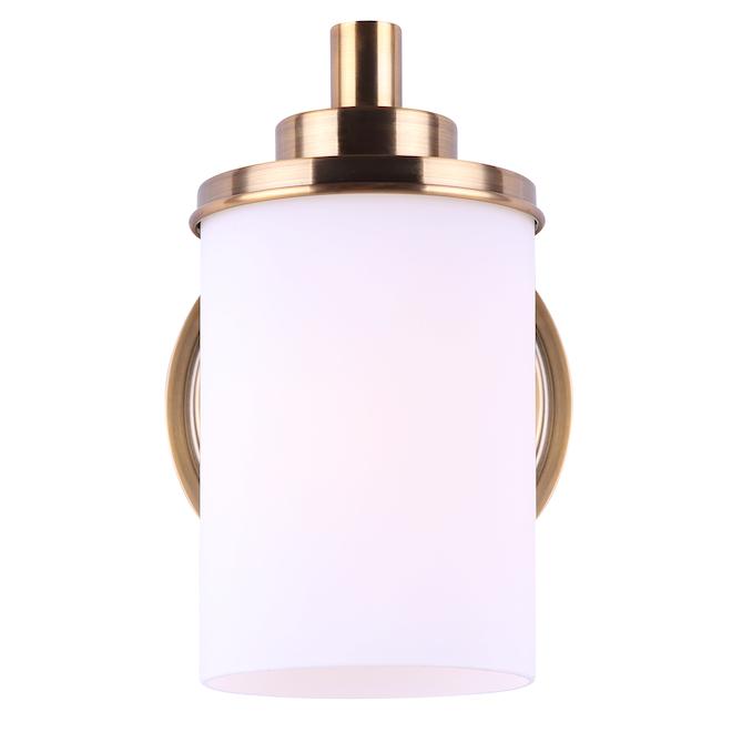 Canarm Bellis Vanity Light - Opal Glass - Gold