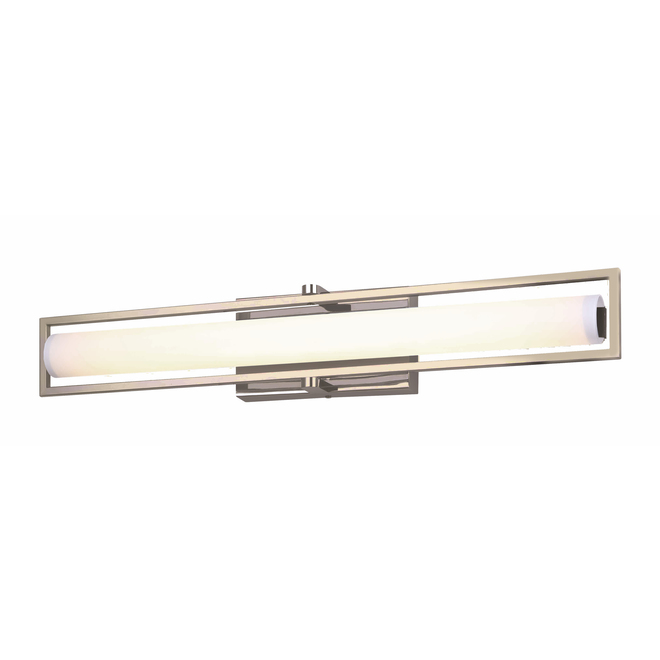 Canarm Esma Bathroom Vanity Light - 20 W Integrated LED - Opal Glass - Gold