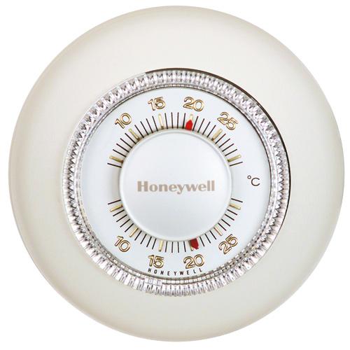 Honeywell Manual Thermostat - Classic Round - 24 V