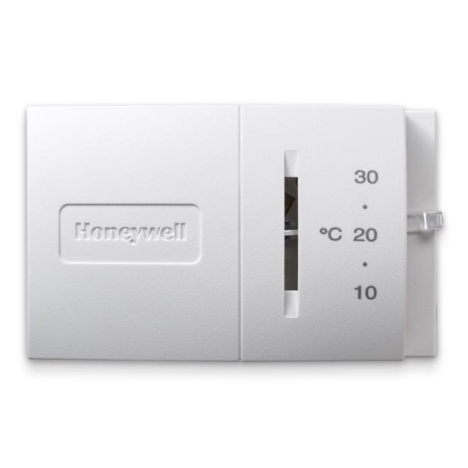 Horizontal Standard Thermostat - 24 V - White