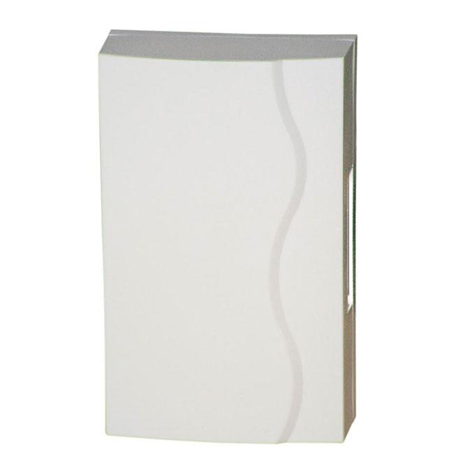 Carillon filaire ou à piles, 2 aires, blanc