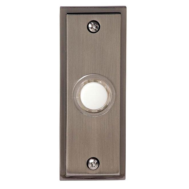 Wired Door Chime - Illuminating - Brushed Nickel