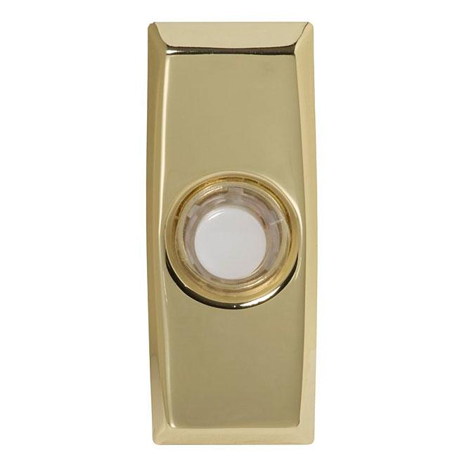 Wired Door Chime - Illuminating - Brass