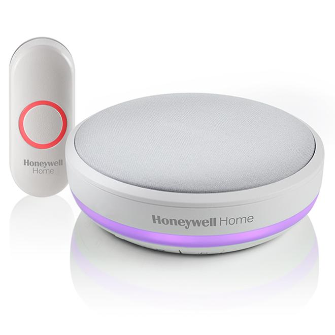 Honeywell Home Series 4 Portable Wireless Doorbell - White