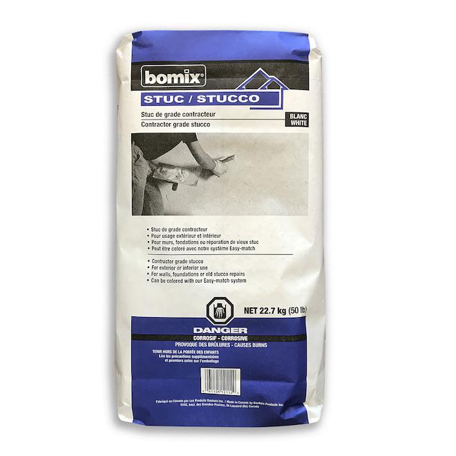 Stucco industriel blanc 22,7 kg