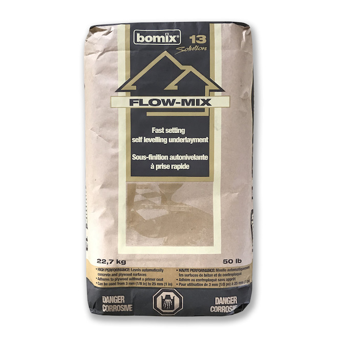 Bomix Flow-Mix Fast-Setting Self-Levelling Underlayment - 22.7-kg