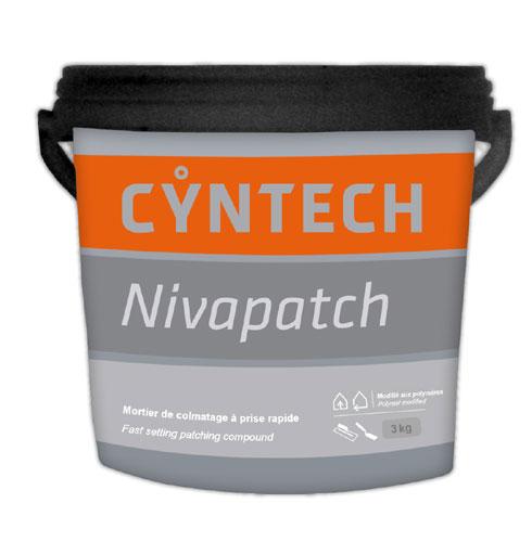 Mortier de colmatage rapide Nivapatch, 3 kg