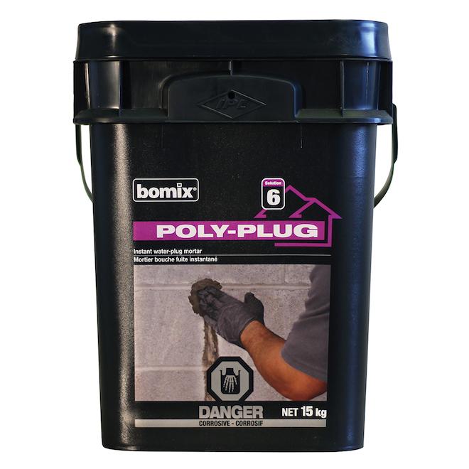 Ciment hydraulique Poly-Plug, 15 kg