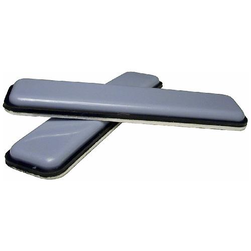 """Self-Adhesive Sliding Glides - Strip - 15/16"""" x 4"""" - 4/Pk"""