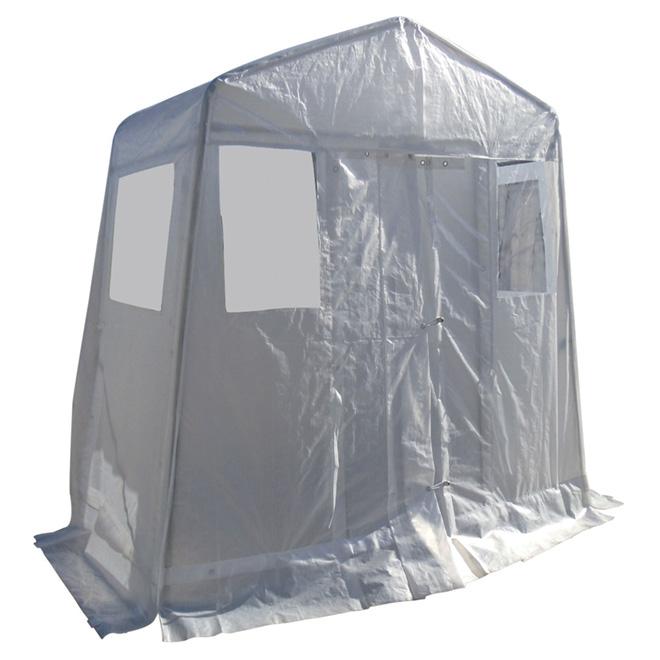Vestibule Shelter - 8' x 4' - White