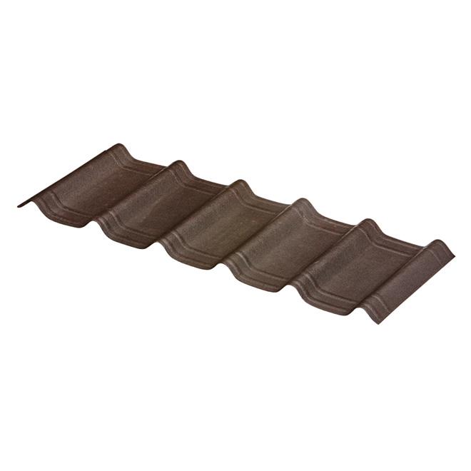 Bardeaux de toiture 42 x 16 po, noir ébène