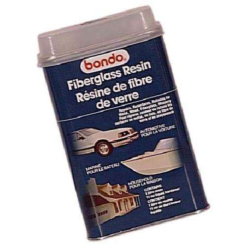 Résine Bondo, fibre de verre, 852 ml