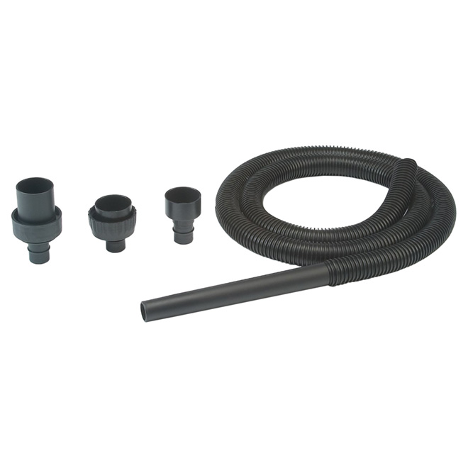 Boyau flexible pour aspirateur d'atelier, 7 pi