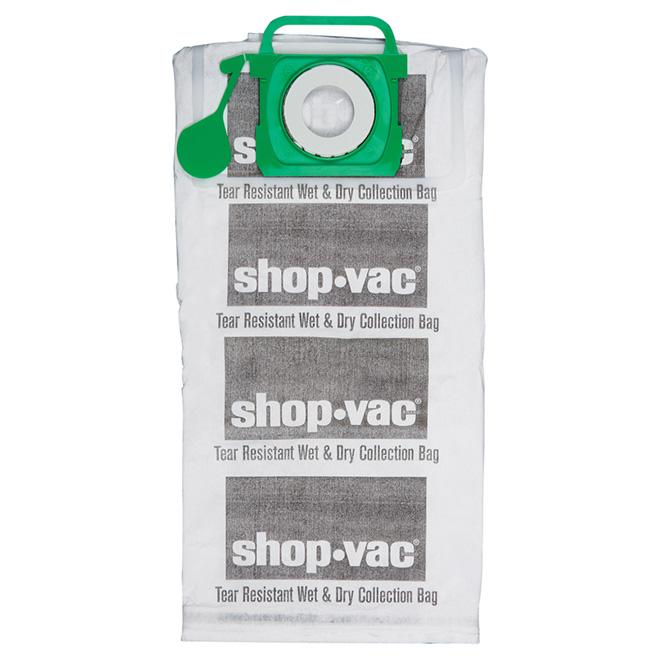 Sacs-filtres pour aspirateur, 45 à 75 L, paquet de 2