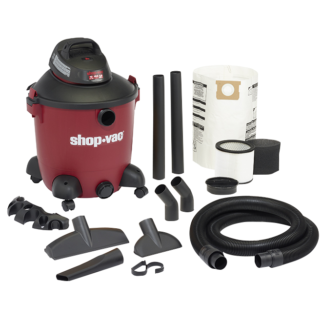 Aspirateur sec et humide 5,0 HP, 45 L