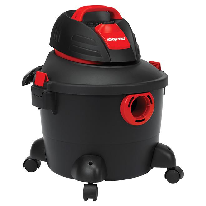 Aspirateur sec et humide, 3 HP, 6 gallons