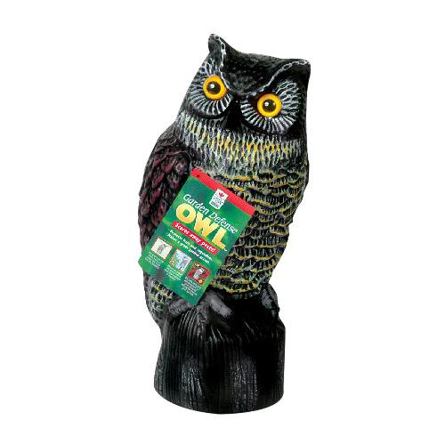 Easy Gardener Defence Owl - Plastic - 16-in x 8-in x 7-in,