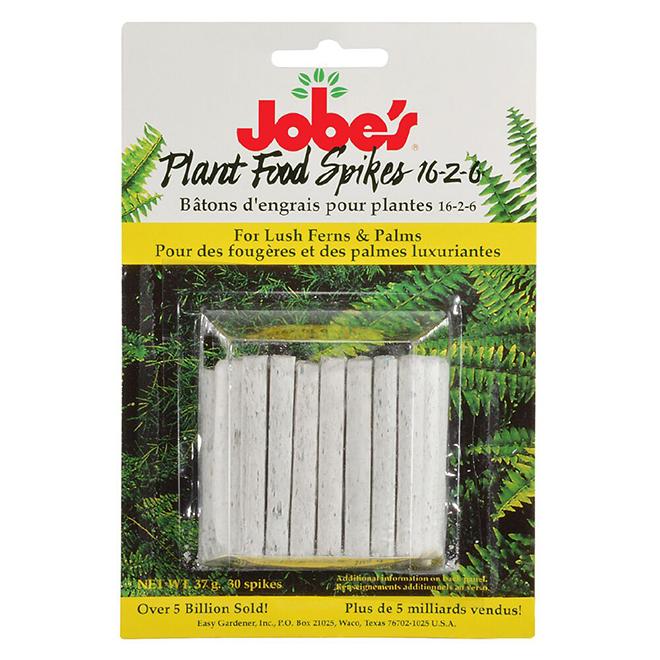 Fertilizer Spikes - Fern and Palm - 16/2/6 - 30 Spikes