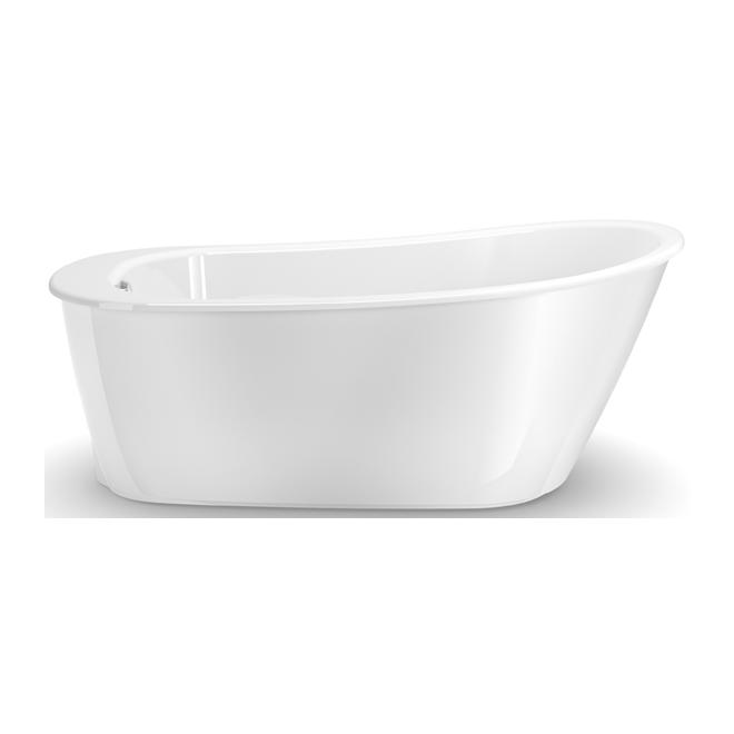 "Sax Freestanding Bathtub - 32"" x 60"" x 24.8"" - White"