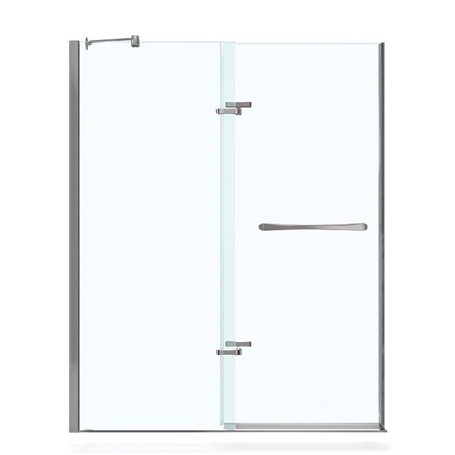 """Maax Shower Door - Reveal - Tempered Glass - 48"""""""