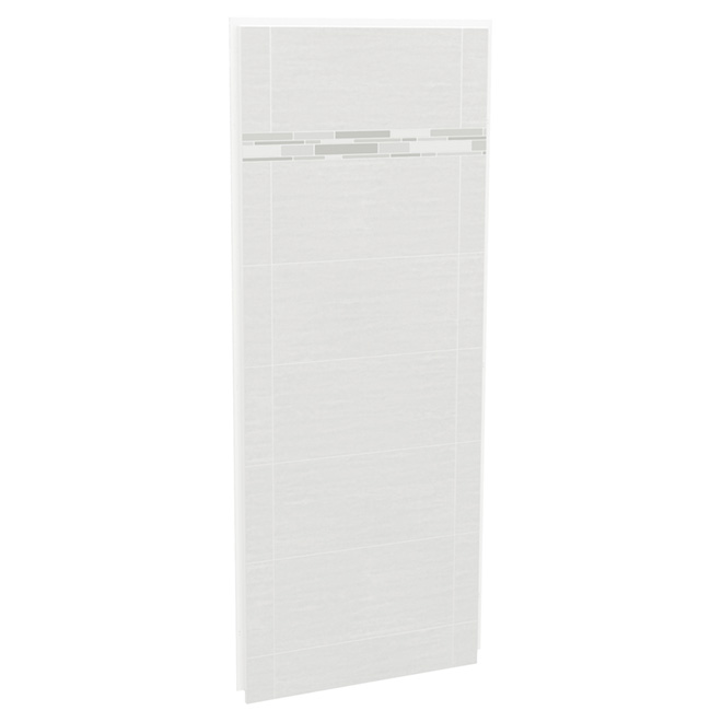 Maax Utile Shower Wall - Side Panel - 32-in x 80-in - Composite - Arctik