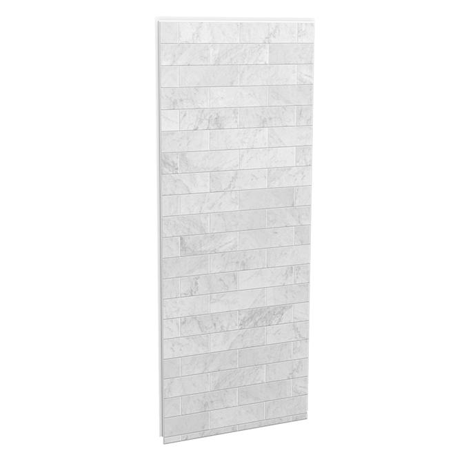 "Utile Shower Side Panel - 32"" x 80"" - Carrara"