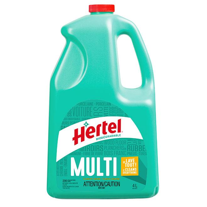Nettoyant « Hertel Multi Lave et brille »