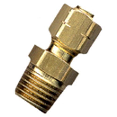 "Union - Brass - 3/8"" x 1/4"" - Tube x MIP"