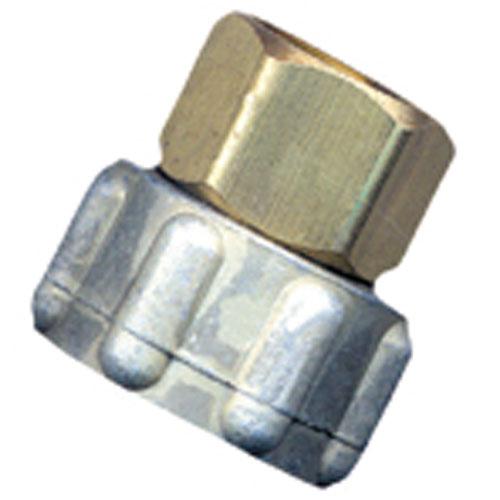 """Connecteur de boyau, laiton, 3/4"""" x 3/4"""", femelle x FIP"""
