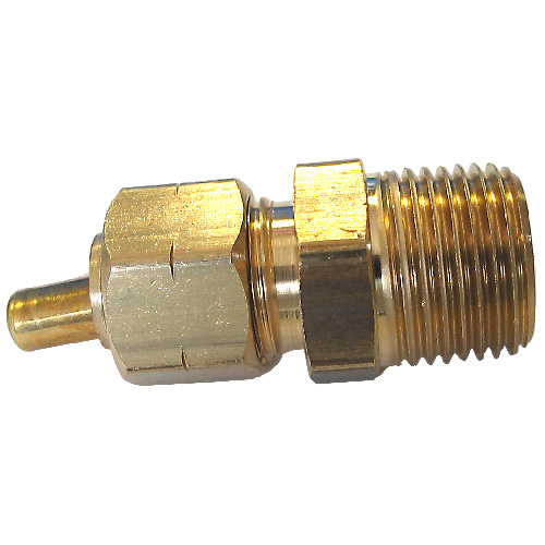 "Union - Brass - 1/2"" x 3/8"" - Tube x MIP"