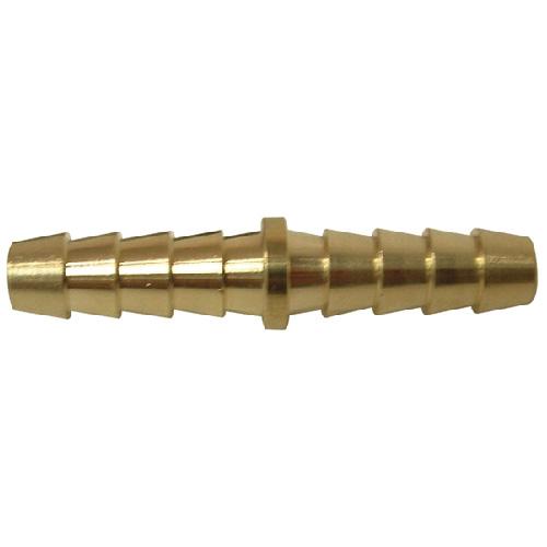 "Hose Barb Splicer - Brass - 5/8"" x 5/8"""