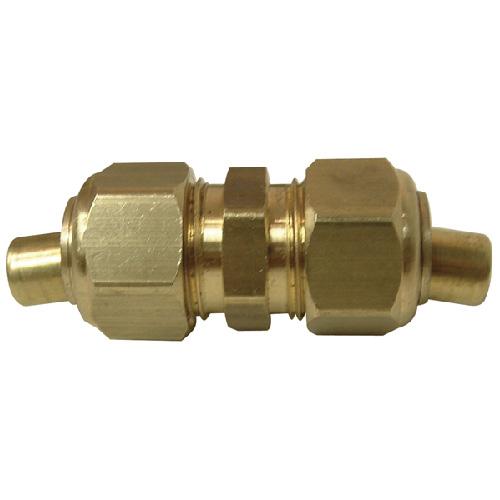 "Union - Brass - 7/8"" x 7/8"" - Tube x Tube"