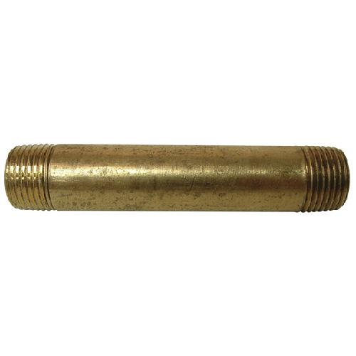 """Nipple - Brass - 1/2"""" x 5"""" - MIP x MIP"""