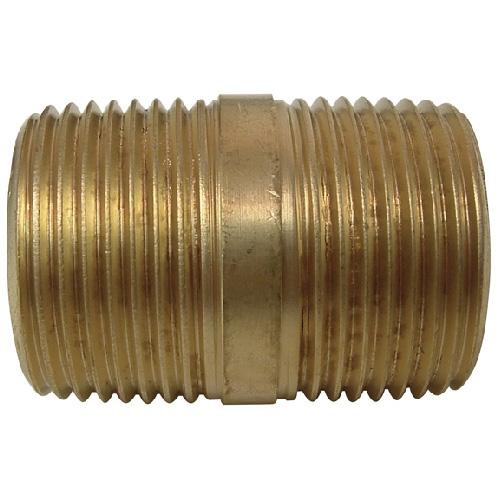 """Nipple - Brass - 3/4"""" x 1 1/2"""" - MIP x MIP"""