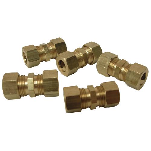 "Union - Brass - 3/8"" x 3/8"" - Tube x Tube"