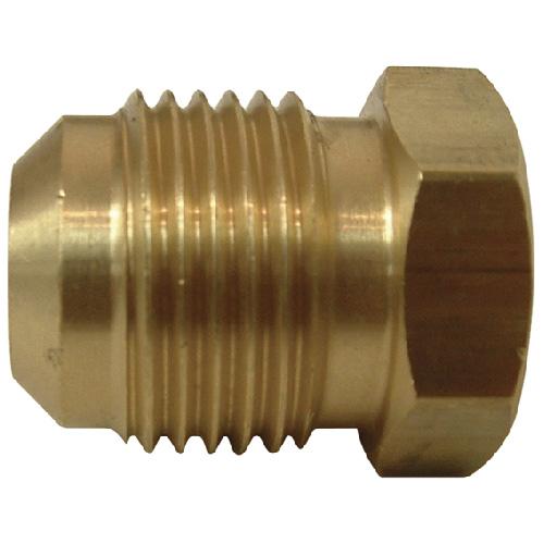 """Flare Plug - Brass - 45° - 3/8"""""""