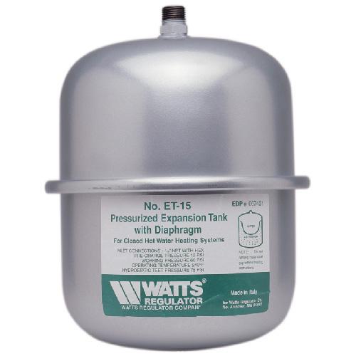 Réservoir dilatation eau non potable en ligne de 2,1 gal