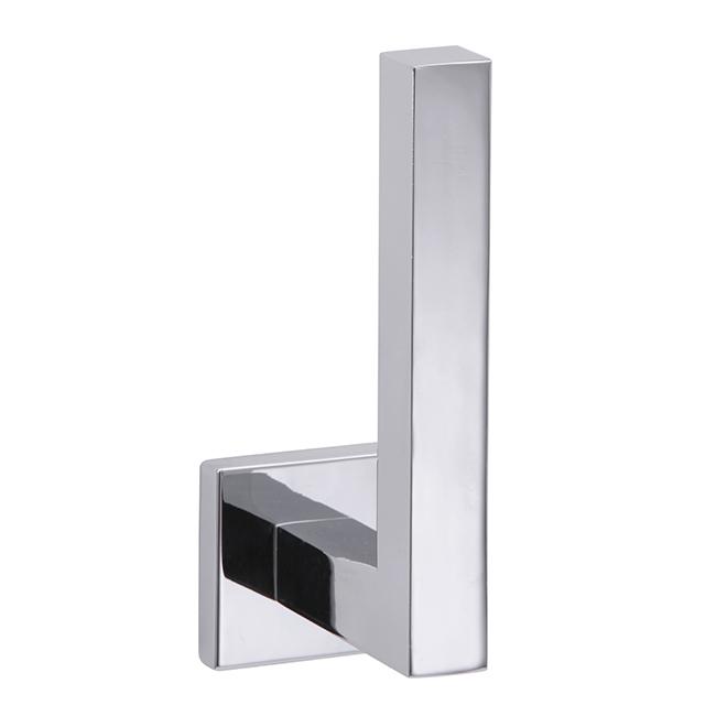 Porte-papier hygiénique vertical Electra, chrome poli