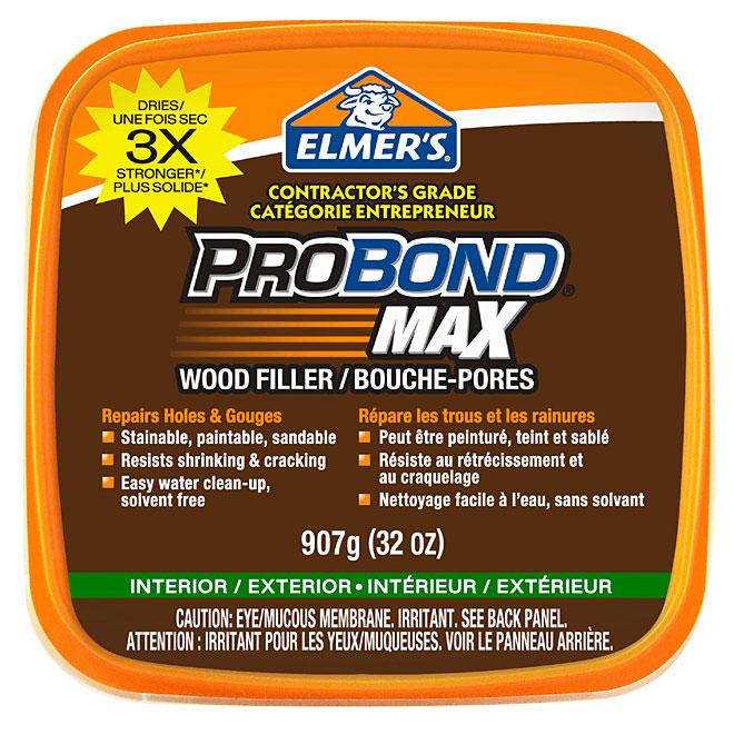 """""""ProBond Max"""" Wood Filler - 907 g  - Brown"""